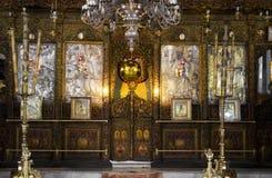 Iglesia de la natividad Foto de archivo libre de regalías