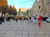 Iglesia de la natividad, Bethlehem imagen de archivo