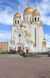 Iglesia de la natividad krasnoyarsk Imagenes de archivo