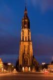 Iglesia de la noche Fotografía de archivo