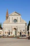 Iglesia de la novela corta de Santa María en Florencia imágenes de archivo libres de regalías
