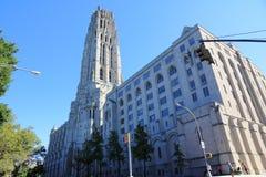 Iglesia de la orilla en Nueva York imagen de archivo