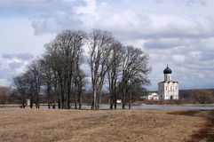 Iglesia de la ortodoxia Imagen de archivo libre de regalías
