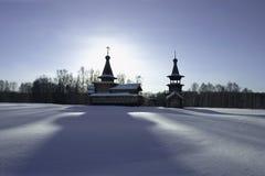 Iglesia de la ortodoxia. Fotografía de archivo