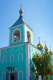 Iglesia de la ortodoxia en Uralsk fotografía de archivo libre de regalías