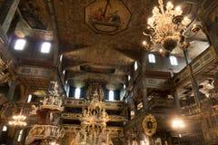 Iglesia de la paz en Åšwidnica dentro Imagen de archivo libre de regalías
