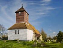Iglesia de la pequeña ciudad imagen de archivo
