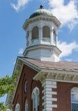 Iglesia de la pequeña ciudad Fotografía de archivo