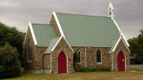 Iglesia de la pequeña ciudad Imágenes de archivo libres de regalías