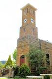 Iglesia de la piedra arenisca, Clarens, Suráfrica Fotos de archivo