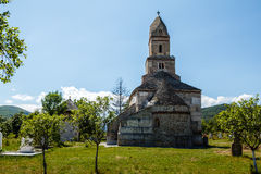 Iglesia de la piedra de Densus Fotos de archivo libres de regalías