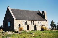 Iglesia de la piedra de Tekapo Imagenes de archivo