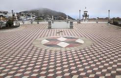 Iglesia de la plaza de Valverde Foto de archivo libre de regalías
