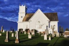 Iglesia de la pradera de la raíz Imagenes de archivo