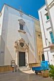 Iglesia de la pureza Martina Franca Puglia Italia imagen de archivo libre de regalías