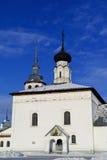 Iglesia de la resurrección en Suzdal fotografía de archivo libre de regalías