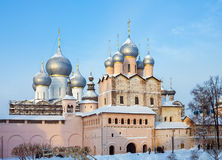 Iglesia de la resurrección Rostov el Kremlin Fotos de archivo