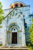 Iglesia de la suposición de la Virgen en el monasterio Studenic Foto de archivo libre de regalías