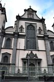 Iglesia de la suposición de la Virgen María bendecida en Colonia Foto de archivo libre de regalías
