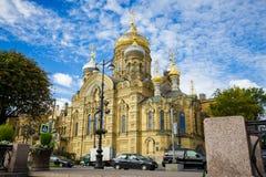 Iglesia de la suposición de St Petersburg Imágenes de archivo libres de regalías