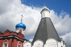 Iglesia de la suposición en el monasterio de Brusensky Fotos de archivo