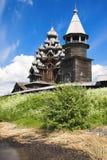 Iglesia de la transfiguración de Kizhi, Rusia Fotos de archivo