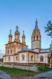 Iglesia de la transfiguración de nuestro salvador en Yar, Ryazan, Rus Foto de archivo