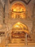 Iglesia de la transfiguración en el soporte Tabor en Israel Fotos de archivo libres de regalías