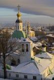 Iglesia de la transfiguración y la iglesia de San Nicolás fotografía de archivo libre de regalías