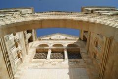 Iglesia de la transfiguración, Israel Fotografía de archivo libre de regalías