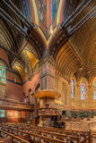 Iglesia de la trinidad, cuadrado de Copley, Boston fotografía de archivo