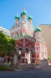 Iglesia de la trinidad santa Fotografía de archivo libre de regalías