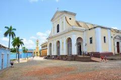 Iglesia de la trinidad santa Foto de archivo libre de regalías