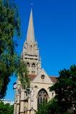 Iglesia de la trinidad santa Cambridge Foto de archivo libre de regalías