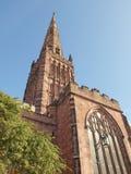 Iglesia de la trinidad santa, Coventry imagen de archivo libre de regalías