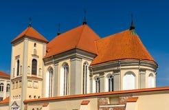 Iglesia de la trinidad santa en Kaunas Fotografía de archivo