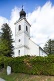 Iglesia de la trinidad santa en Lendavske Gorice, Eslovenia foto de archivo libre de regalías