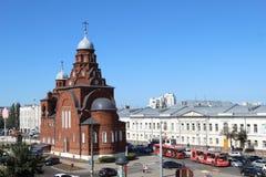 Iglesia de la trinidad santa o museo del cristal, ciudad de Vladimir, Rusia foto de archivo libre de regalías