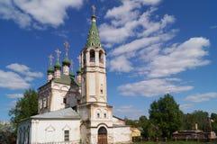 Iglesia de la trinidad, Serpukhov, región de Moscú, Rusia foto de archivo libre de regalías