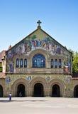 Iglesia de la Universidad de Stanford foto de archivo