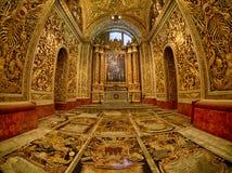 Iglesia de La Valeta foto de archivo