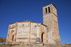 Iglesia de la Vera Cruz, Segovia, Spain Stock Photo