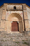 Iglesia DE La Vera Cruz, Segovia, Spanje Royalty-vrije Stock Afbeelding