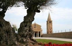 Iglesia de la Virgen bendecida del ángel, Caorle Imagen de archivo libre de regalías