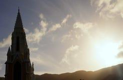 Iglesia de la Virgen del valle Imagen de archivo