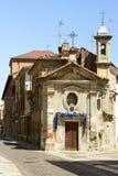 Iglesia de la Virgen Santa, Alejandría, Italia Fotos de archivo