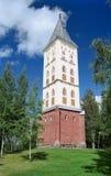 Iglesia de Lappeenranta en Finlandia fotografía de archivo