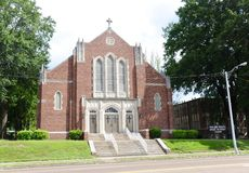 Iglesia de las alturas de la montaña de Cristo Memphis, TN Foto de archivo
