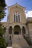 Iglesia de Latrun Imagen de archivo libre de regalías