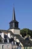 Iglesia de Le Palais en la belleza Ile en Francia Foto de archivo libre de regalías